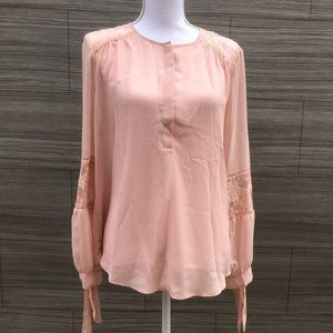 Belle Sky pink blouse New with tags Size Medium